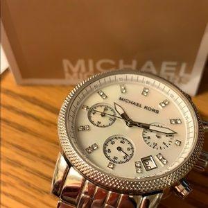 New Michael Kors watch Silver